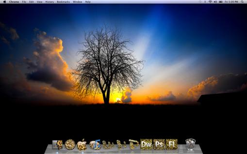 Leopard Desktop Icons